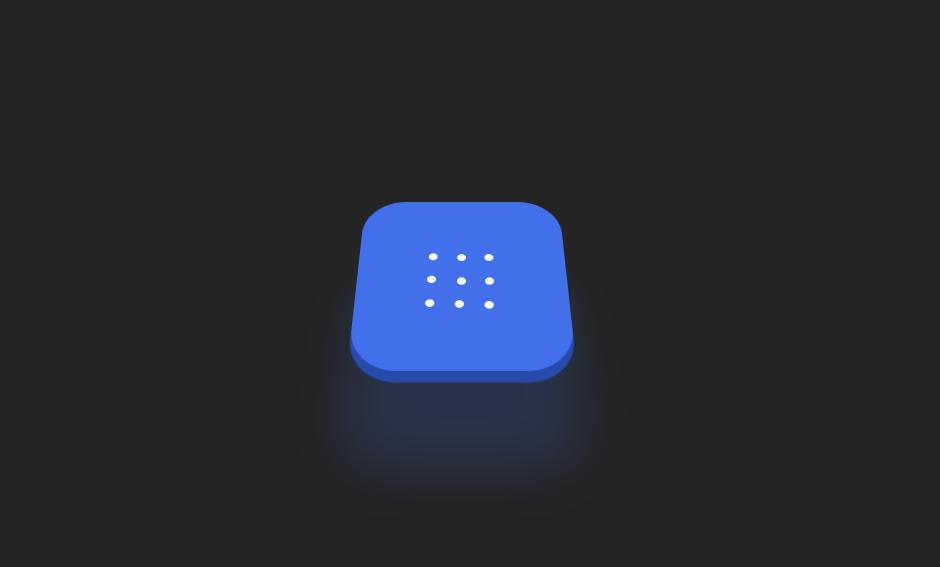 Simple 3D Button UI Element Design CSS Example