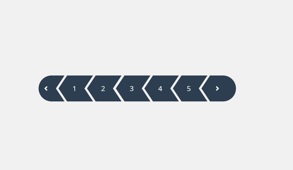 Simple CSS Pagination For Web Project