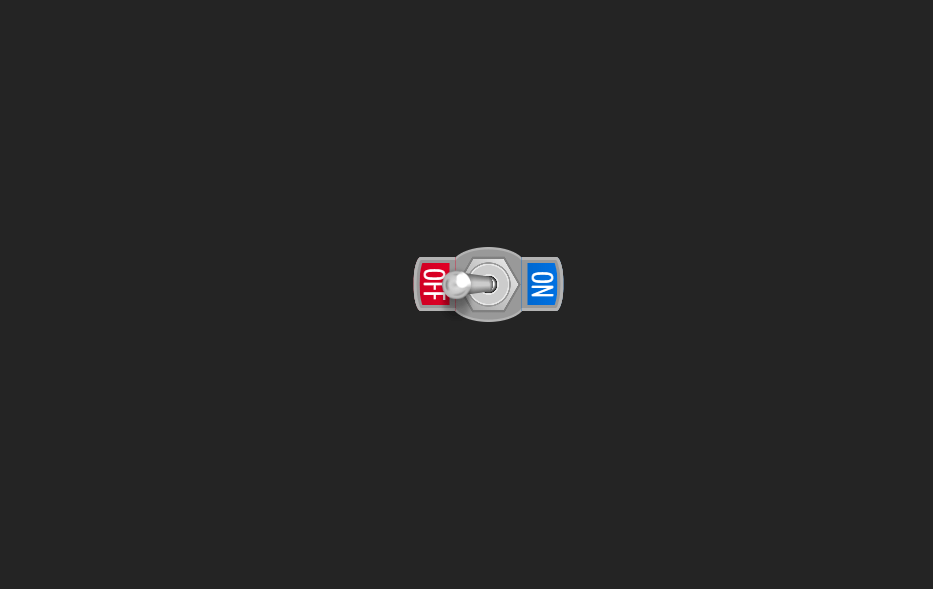Tiny Toggle Switch Drawn with HTML and CSS
