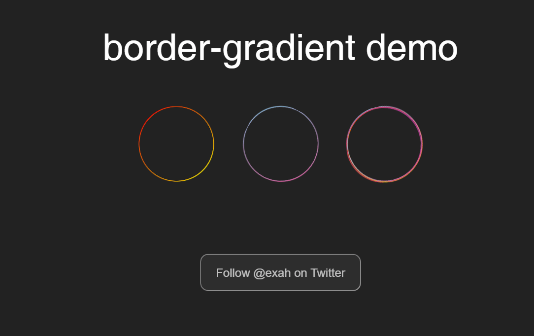 CSS Circle Border Radius Gradient Mixin Box Shadow