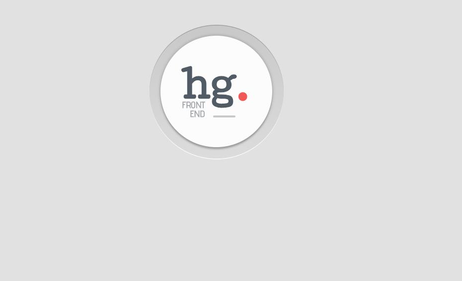 CSS Logo Icon Badge Design Concept