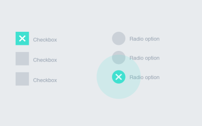 CSS Ripple Wave Checkbox Radio Button