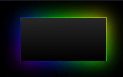 HTML CSS Border Animation with Gradient Shadow