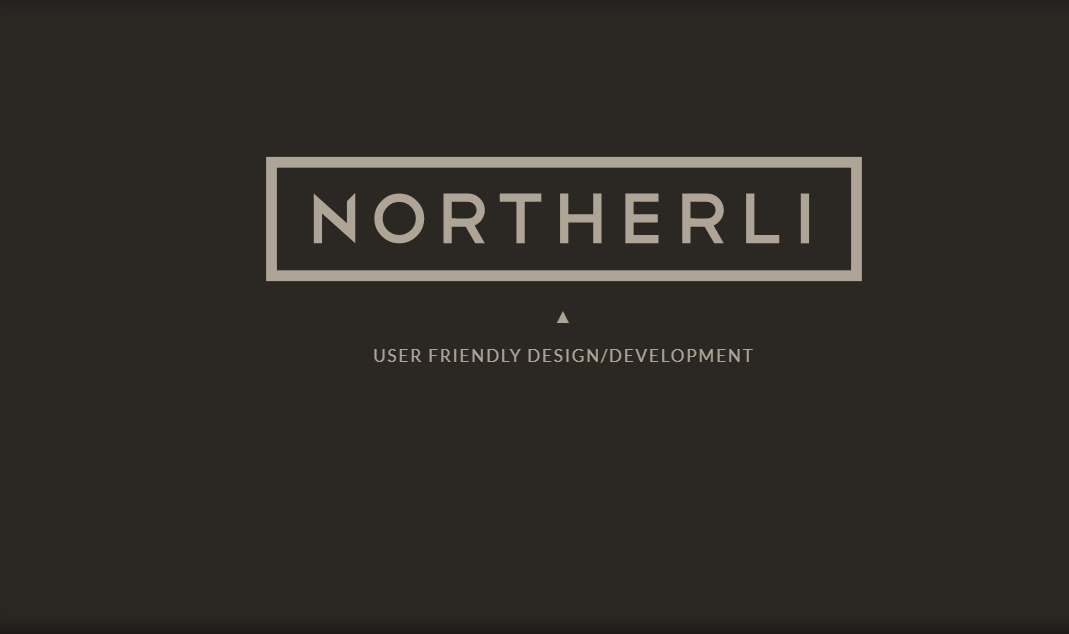 Northerli CSS SVG Logo Hover Animation Effect
