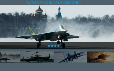 Only CSS Slider Responsive Design