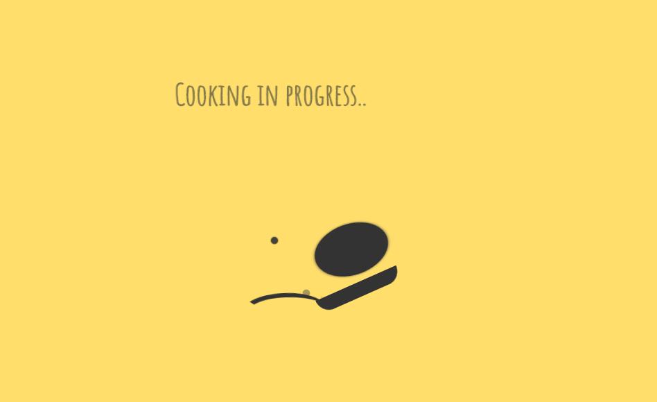 Pancake Cooking CSS3 Loading Style