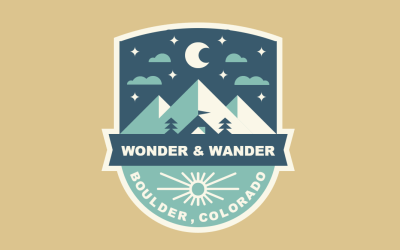 Pure CSS Boulder Colorado Patch Example