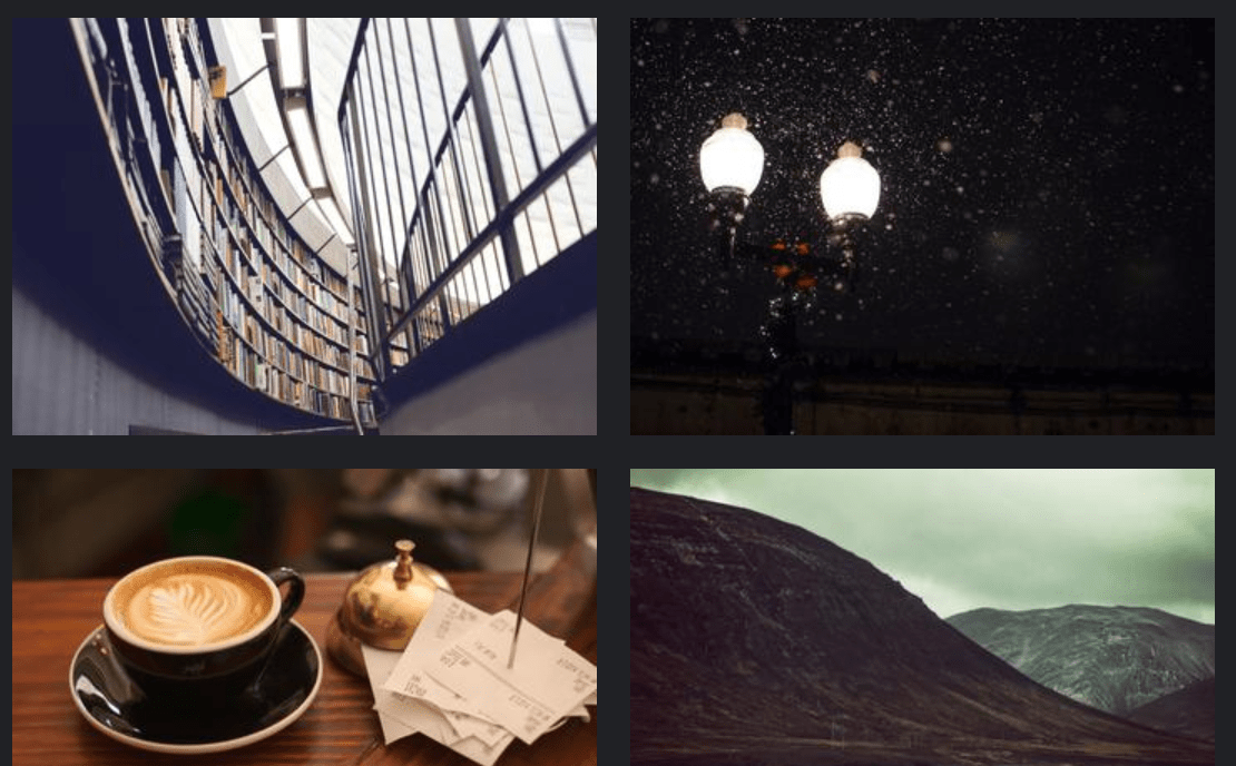 Simple CSS Image Gallery Hover Effect