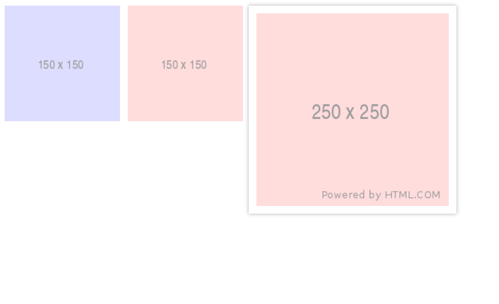 Simple CSS Mouseover Thumbnails Design