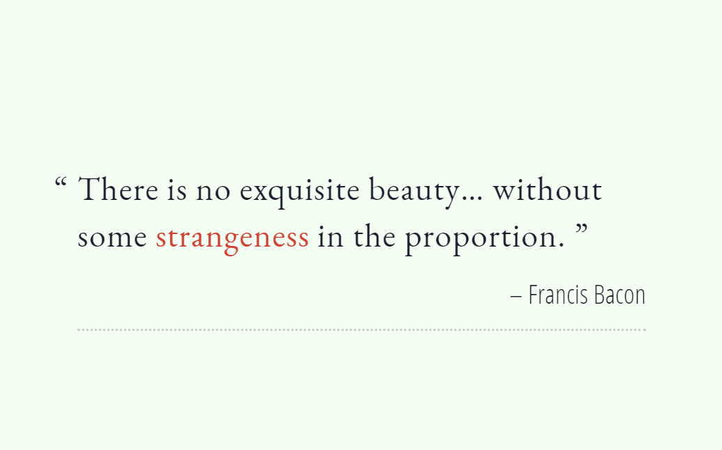 Simple Web Quote Design in HTML CSS