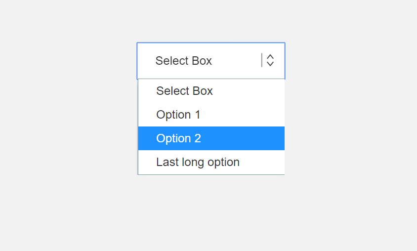 Styling Select Box with HTML And CSS