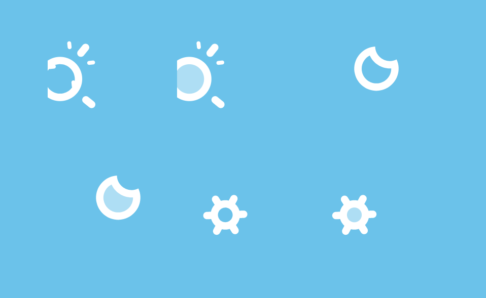 SVG Icons Animated with HTML CSS