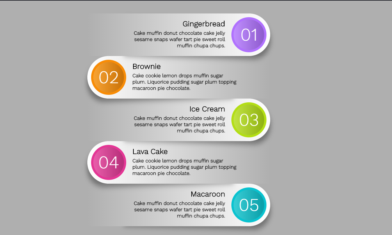 Amazing Design CSS Infographic with No Edge Support