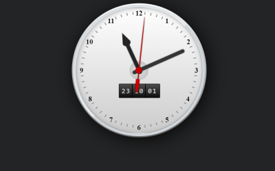 Analog And Digital Clock Using HTML CSS Template