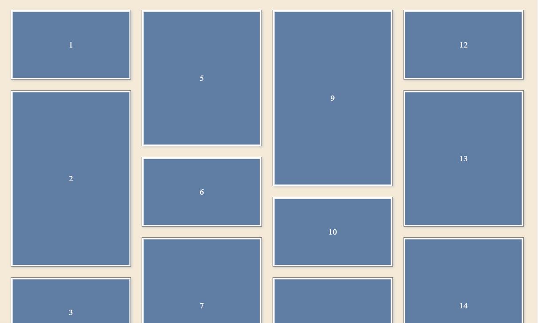 Masonry Style CSS Only Column Layout