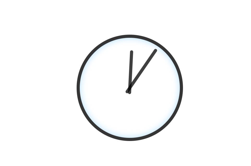 Single Element CSS3 Animation Clock