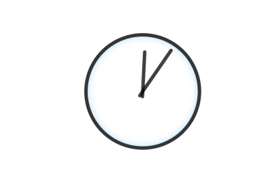 Single Element CSS3 Animation Clock