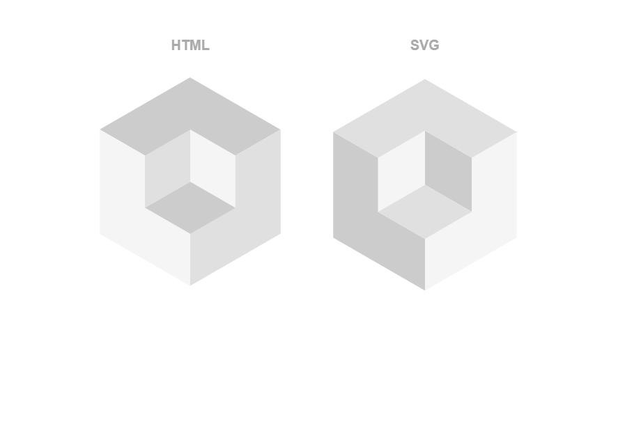 Animated Loading Indicator with Isometric Cubes