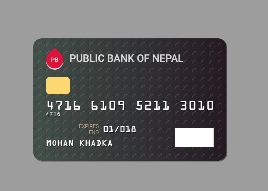 Credit Card Design HTML CSS SVG Inspiration