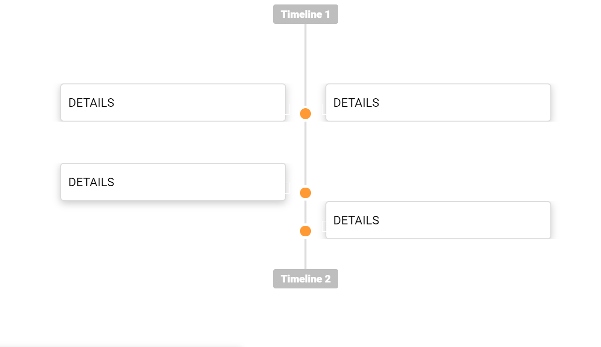 CSS3 HTML5 Vertical Timeline
