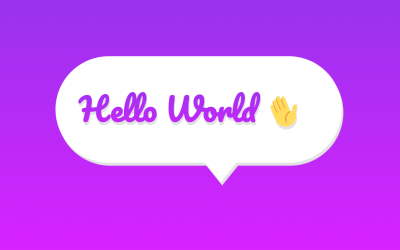 CSS3 Speech Bubble Text Effect Animation