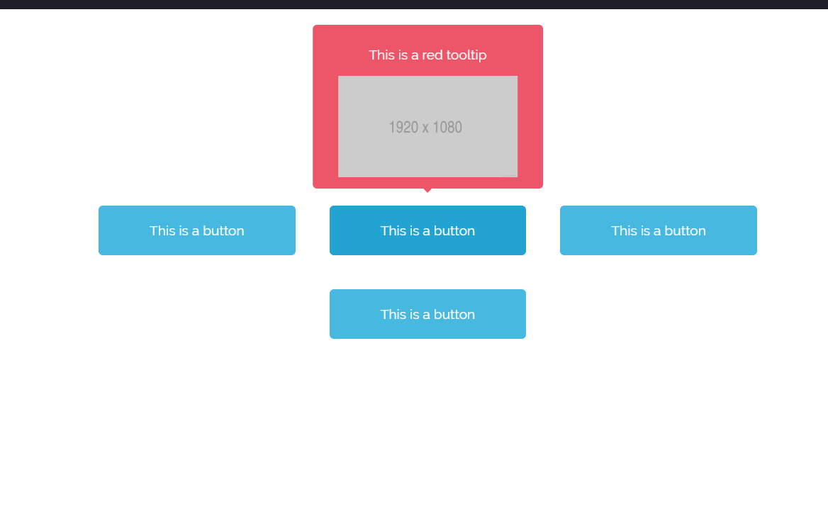 Custom Tooltip CSS Only Code Example