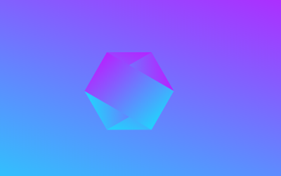 Pure HTML CSS Hexagon Gradient Background