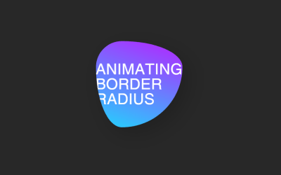 Animating Border Radius CSS Code