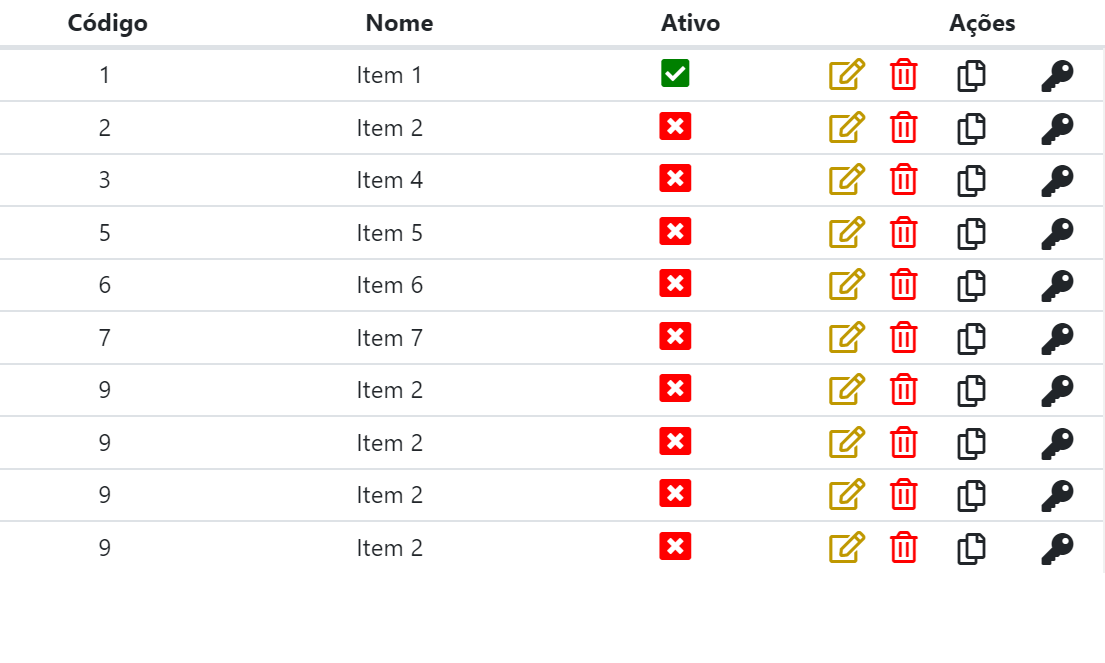 Awesome Vue.js Table Design Example