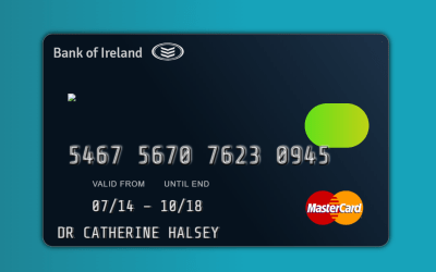 CSS Credit Card Mockup Code Example