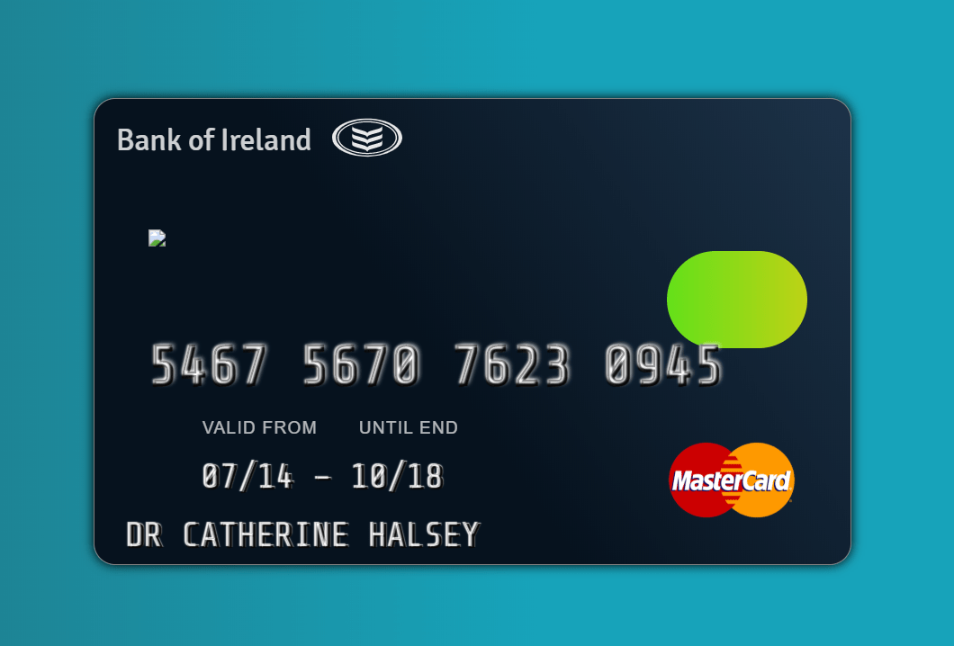 css credit card mockup code example  css codelab