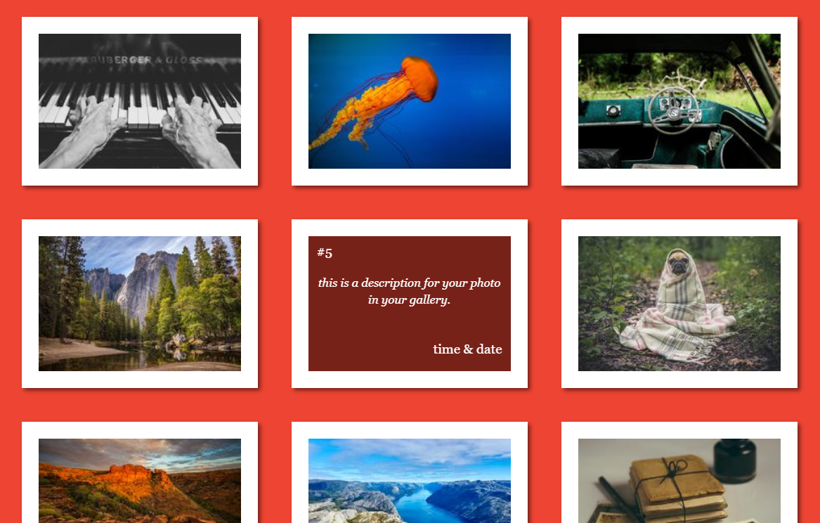 CSS Image Hover Overlay Animated Covers