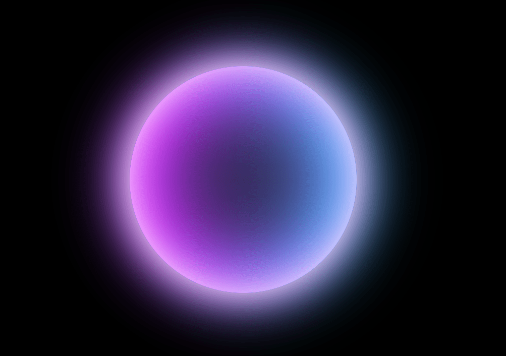 HTML Glow Effect Translucent Marble