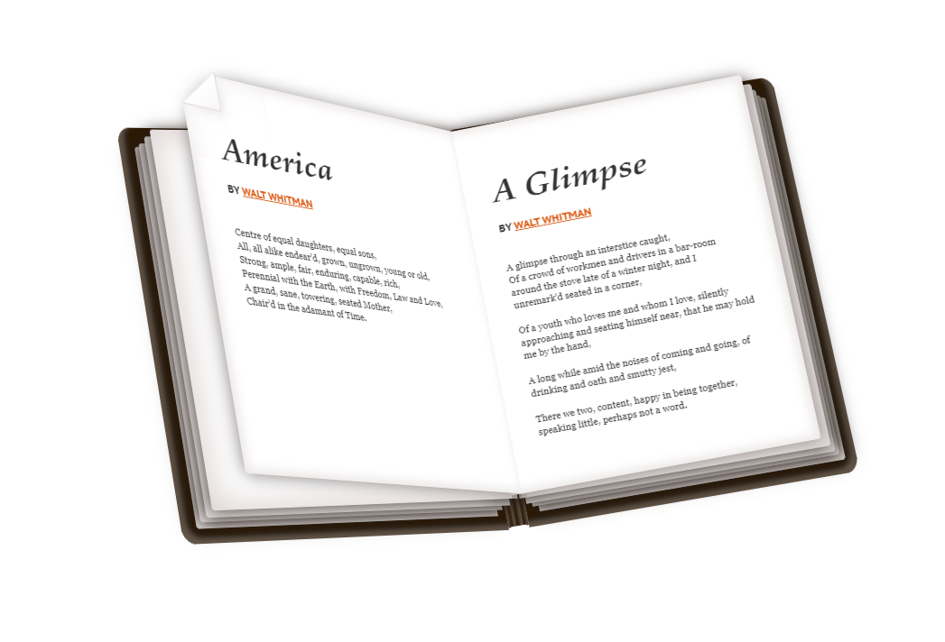 Pure CSS Book Effect Hover Animation