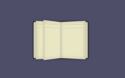 Pure CSS Book Opening Animation