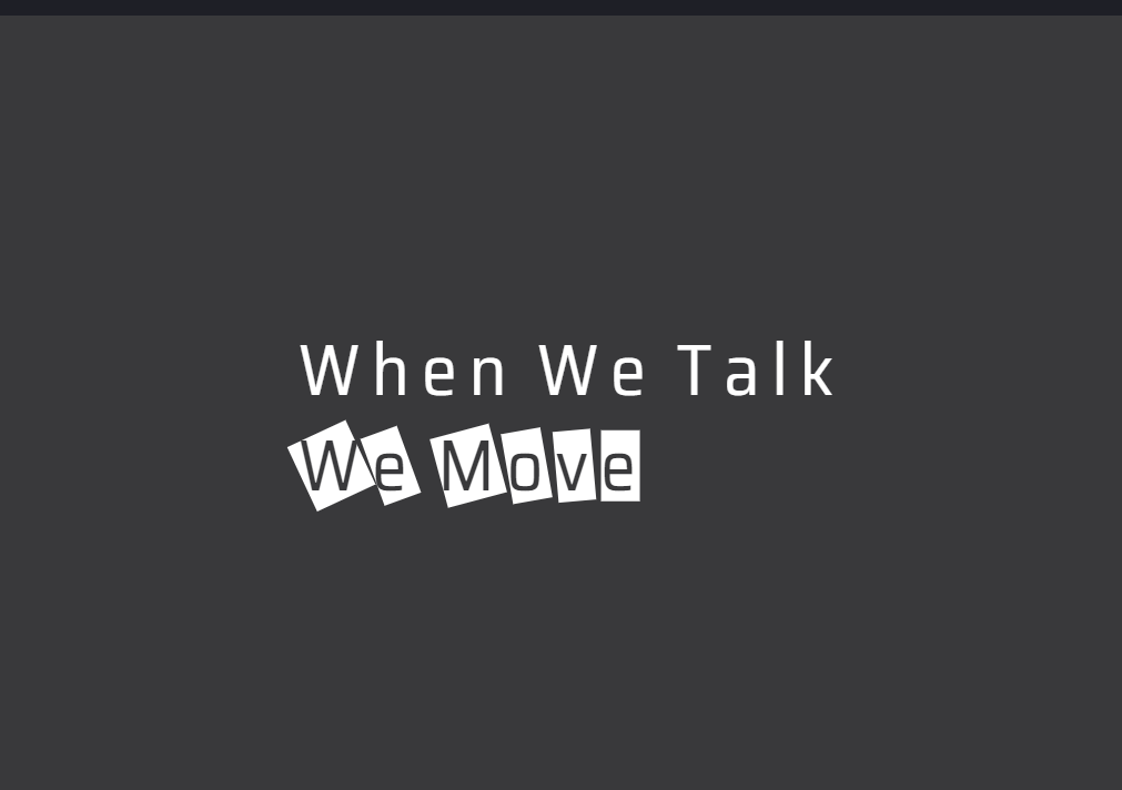 Simple CSS HTML Mouseover Text Animation