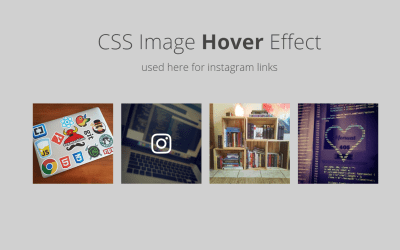 Simple Image Blur Overlay Fade-in CSS Hover
