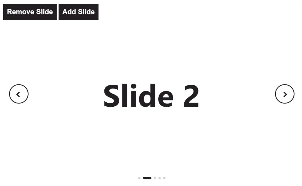 Simple Slider Design Using Vue.js