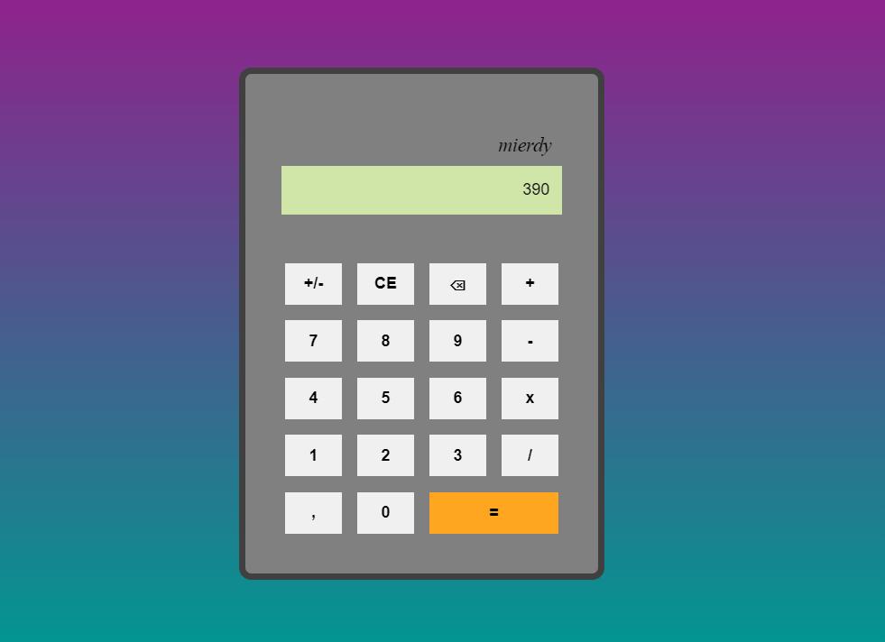 Vue.js Calculator App Example