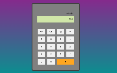 Vue.js Calculator App Example