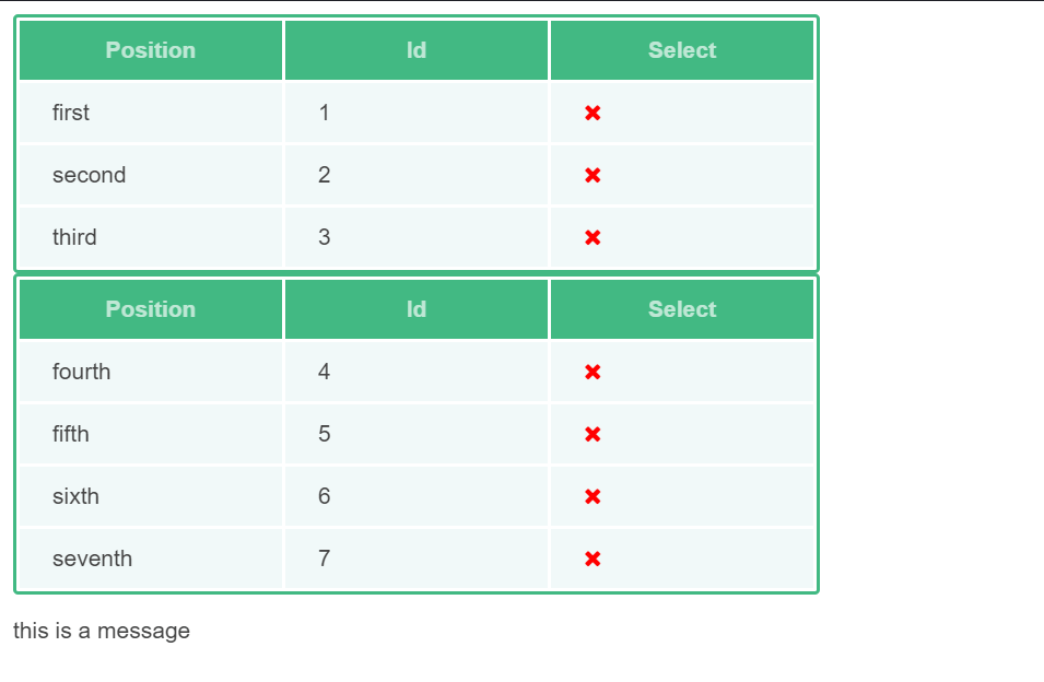 Vue Material Table Component