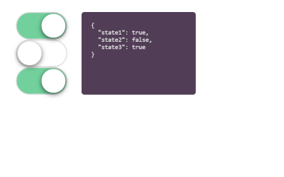 Vue Toggle Switch Simple Example