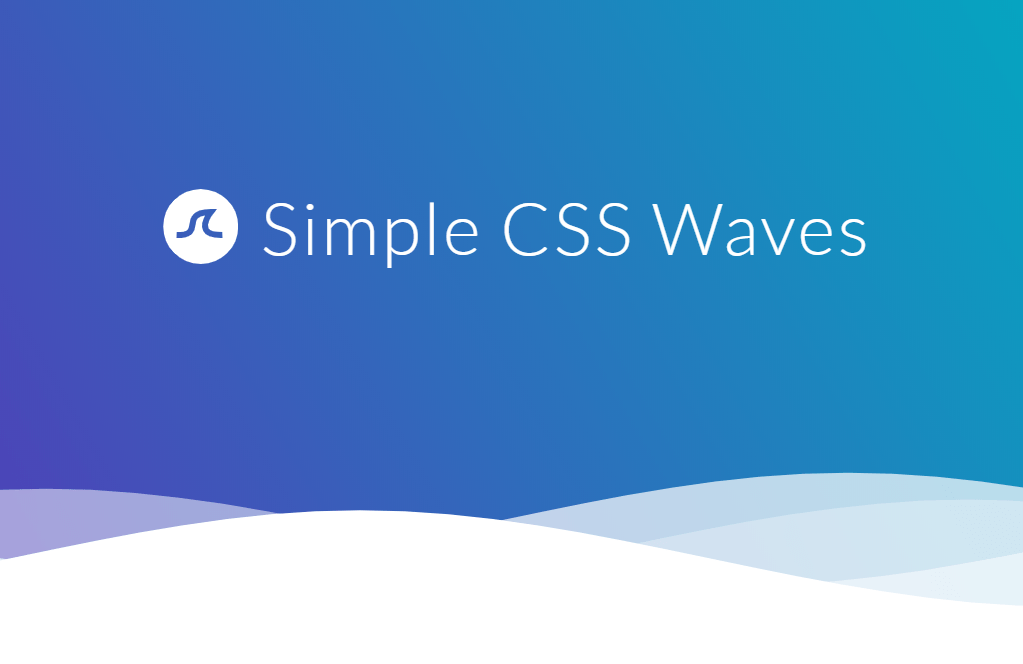 Water Effect Simple CSS Wave Animation