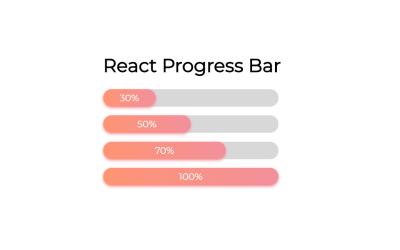 Custom React.js Progress Bar