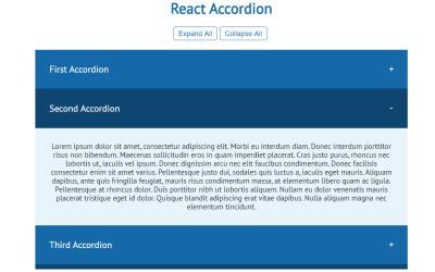 React Accordion Example