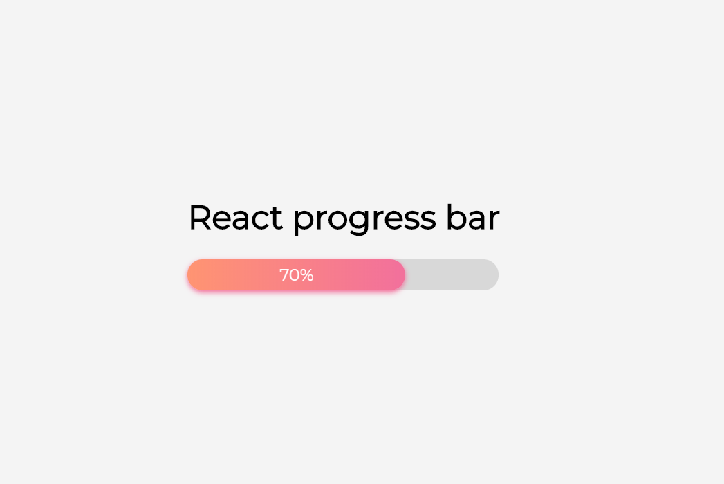 React.js Progress Component