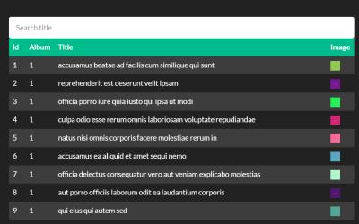 React List Component