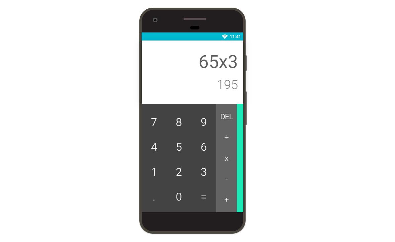 ReactJS Calculator Android App