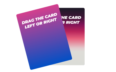ReactJS Swipe Card Snippet