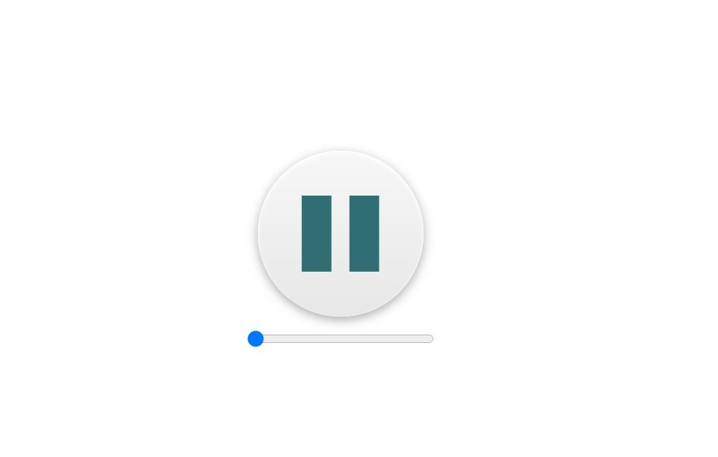 Simple ReactJS Audio Player